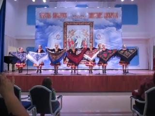 танец с платками - танцевальная група хора