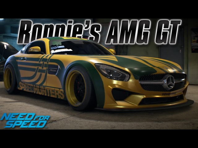 Need For Speed 2015: Ronnie's Mercedes-AMG GT (Legends Update) [1100 Horsepower]