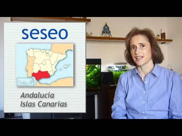 Spanish pronunciation: C Z