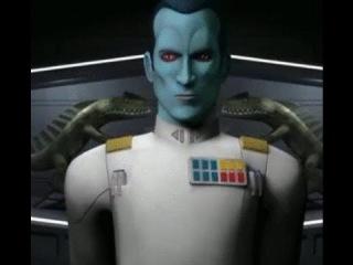 Star Wars Rebels Season 3 Trailer Grand Admiral Thrawn REVEAL - Star Wars Celebration 2016