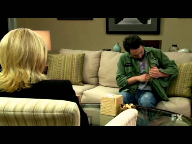 It's always sunny in Philadelphia Charlie and the Therapist.