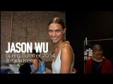 JASON WU Spring 2014 Backstage Karlie Kloss, Jourdan Dunn MODTV