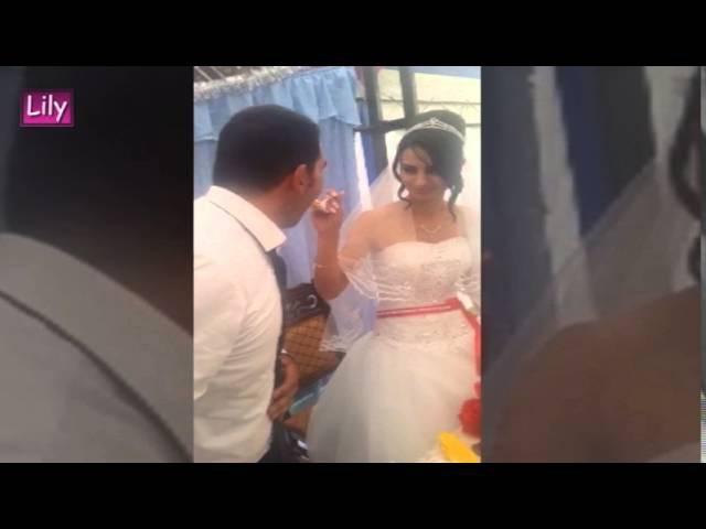 Жесть! Жених чуть не сломал руку невесте! / Tin! The groom broke the hand of the bride!