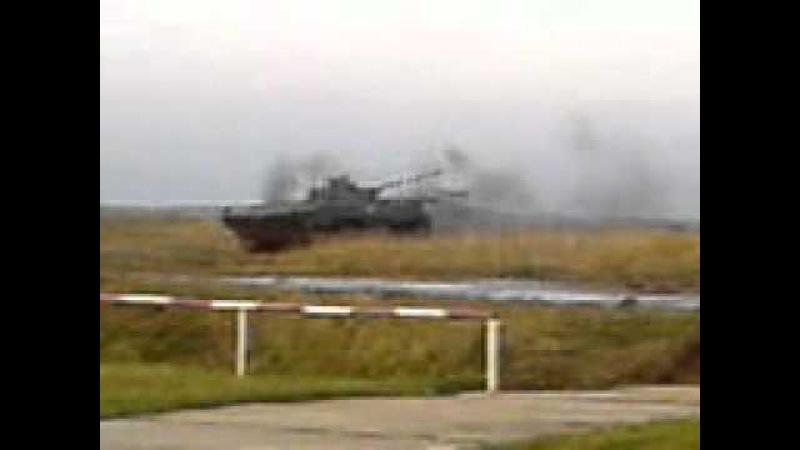 танк армейские учения Теслов.3gp