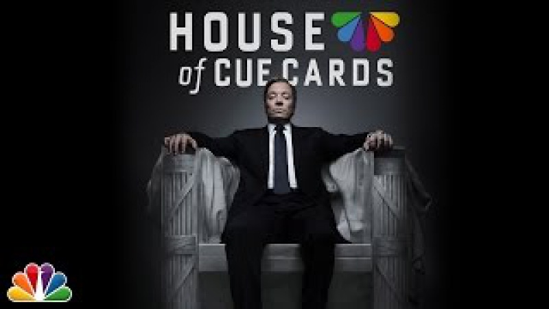House of Cue Cards (Part 1 of 2) - The Tonight Show Starring Jimmy Fallon