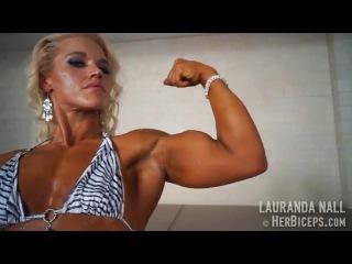 Lauranda Nall Ultimate Muscle Girl and Female Bodybuilder