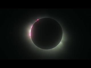 Полное солнечное затмение. Шпицберген