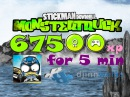 Stickman DownHill Monstertruck (IOS/Android) 67500 xp за 5 минут