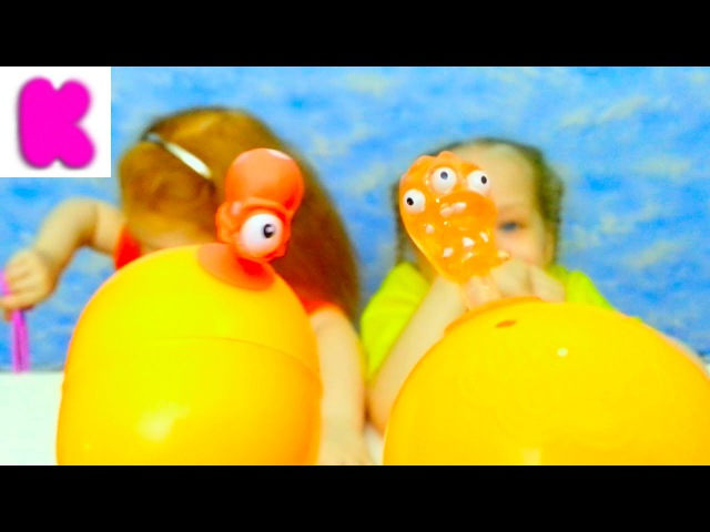 ПРИЛИПУЧКИ! Шары - Чупа- Чупс. КИНДЕР сюрприз. PRILIPUCHKI! Balls - Chupa- Chups. Kinder Surprise!
