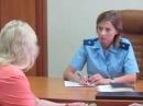 Прокурор Крыма Наталья Поклонская в Феодосии провела прием граждан 16 июня 2016 1
