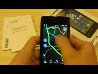 Lenovo A319 Обзор смартфона Android 4.4 и Dolby Digital Plus !
