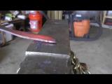 Изготовление ножа из троса