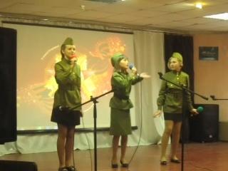 Трио - Зварич Виолета, Бабенко Катя, Друзина Полина -