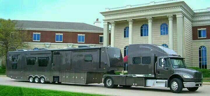 дом на колесах в США