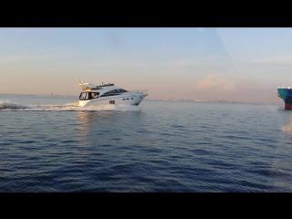 Гонки на яхтах Princess vs bayliner