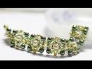 Красивый браслет из бисера и бусин своими рукамиBeautiful bracelet with your hands