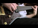 Ibanez Iron Label 7-string RGIX27FEQM with EMG 707 Playthrough