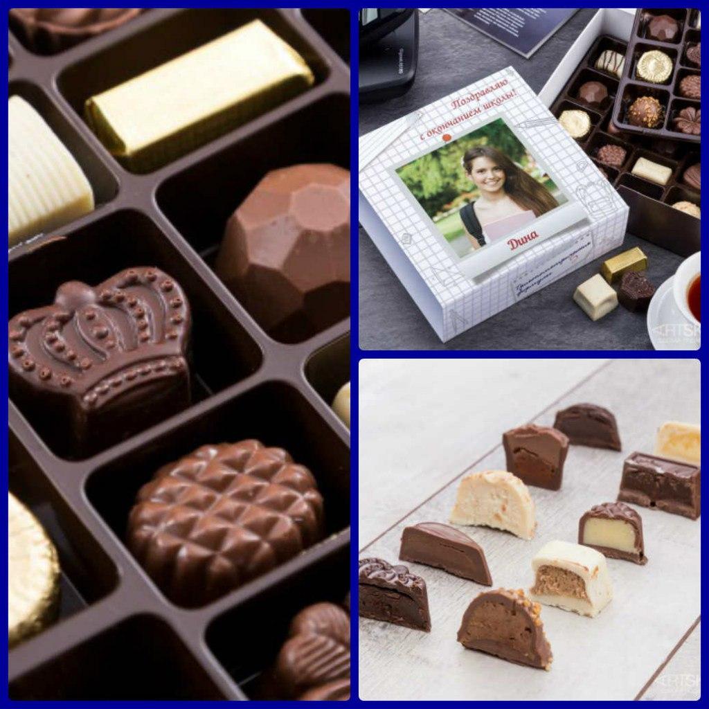 шоколад в подарочной упаковке с оздравлениями
