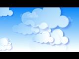 Футажи для видеомонтажа фон облака