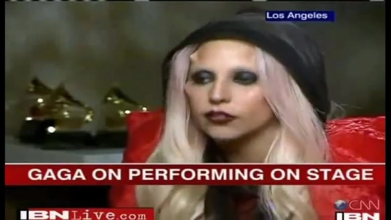 2011 Lady Gaga > Autres ITW - CNN IBN TV India (Gagavision.net)