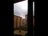 Воронежский экстремал прогулялся по канату на высоте 10 этажа