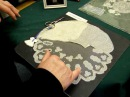 Carrickmacross Lace Demonstration by Nora Finnegan