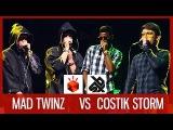 MAD TWINZ vs COSTIK STORM    Grand Beatbox TAG TEAM Battle 2016    SEMI FINAL