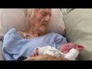 Anciana de 101 años de edad dió a luz a un bebé
