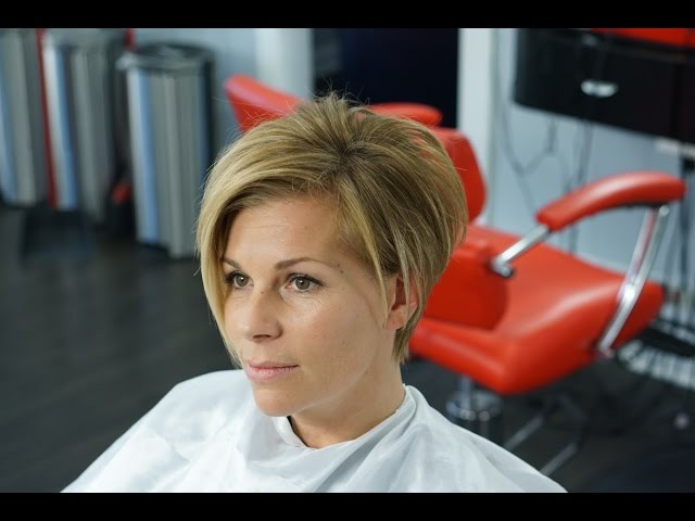 Undercut Textured Bob - How to Woman Tutorial