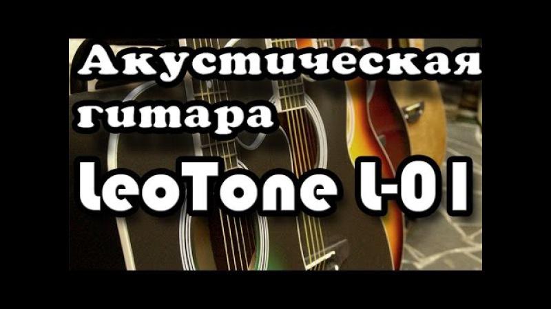 Акустическая гитара LeoTone L01