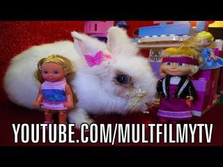 Смотреть как дети играют в куклы