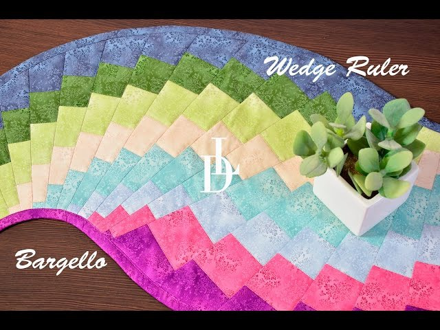 Patchwork Bargello - Wedge Ruler