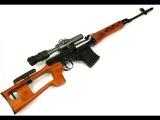 Сделано в СССР. Снайперская винтовка Драгунова (СВД).