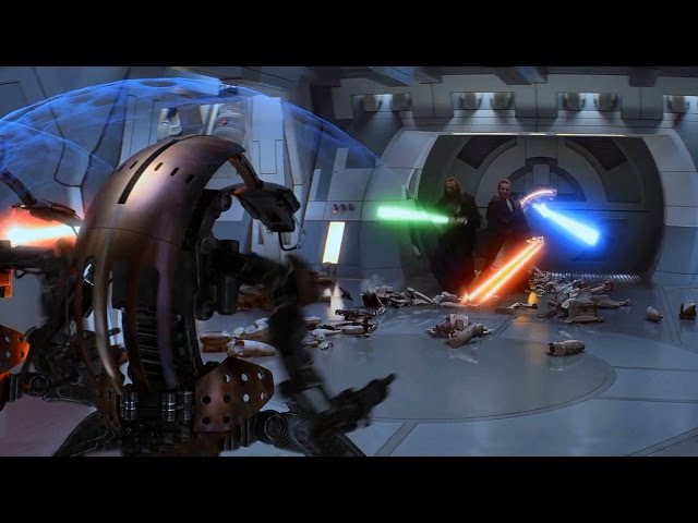 Jedi vs Trade Federation Droids - The Phantom Menace [1080p HD]