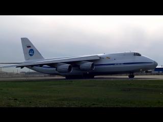взлет Ан 124-100