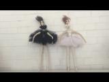 Черный и Белый лебедь/jekkihard dolls