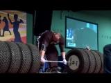 Брайан Шоу-подъём нереального веса 485кг в становой тяге.