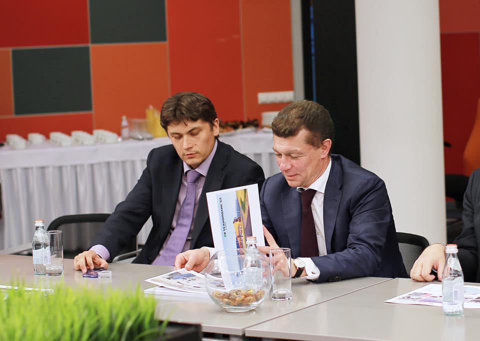 «Технополис GS посетил министр труда и социальной защиты Российской Федерации Максим Топилин.