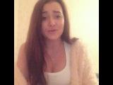 Алентьева Настя - Я по тебе так сильно скучаю (ВИА ГРА cover),красивая девушка с волшебным голосом шикарно спела кавер на песню,