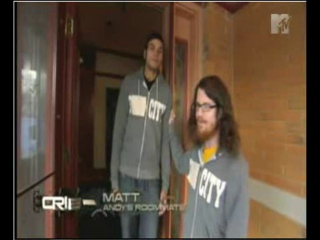 Andy Hurley on MTV Cribs (Part One)