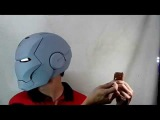 BAD ASS WERX presents Iron Man MK7 EVA FOAM Motorized Helmet