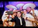 Мексиканская вечеринка в кафе Бульвар Mariachi Los Panchos