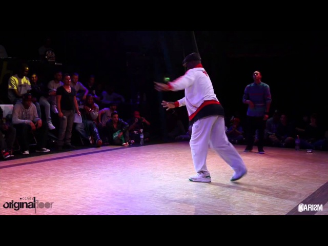 Cergy Original Floor 2 Super Finale 2VS2 Hiphop Paul Ereck Vs Paradox Karism