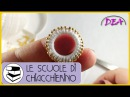 Chiacchierino - Come ricoprire un Cerchio con rifinitura di perline sul bordo.