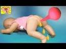 Беби Борн ДОКТОР Запор Клизма мультик с куклами игры для девочек на русском Beby Born