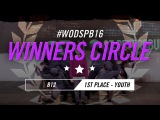 B12  1st Place  Youth Division  WOD St. Petersburg Qualifier 2016  #WODSPB16