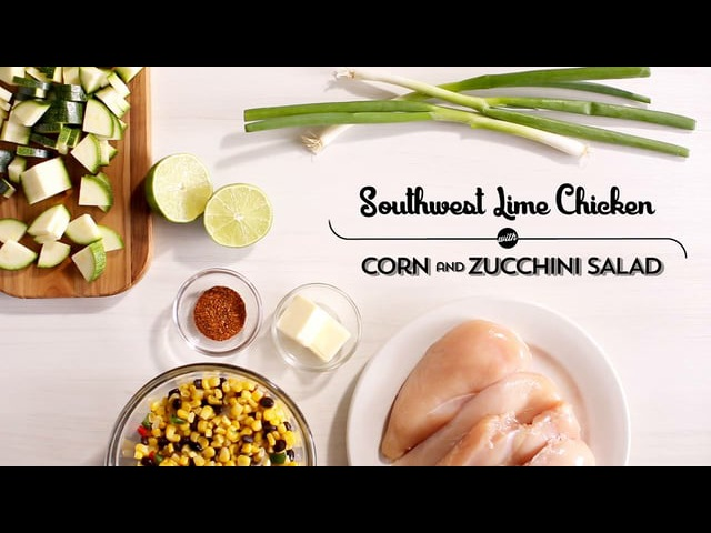 2015 2B Southwest Lime Chicken with Corn and Zucchini Salad