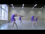 The best! 1 part video-Akad.Vaganova.2012.Ekz.5 balet.klass.new girls.teacher.M.A.Gribanova.