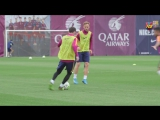This is how Leo Messi trains