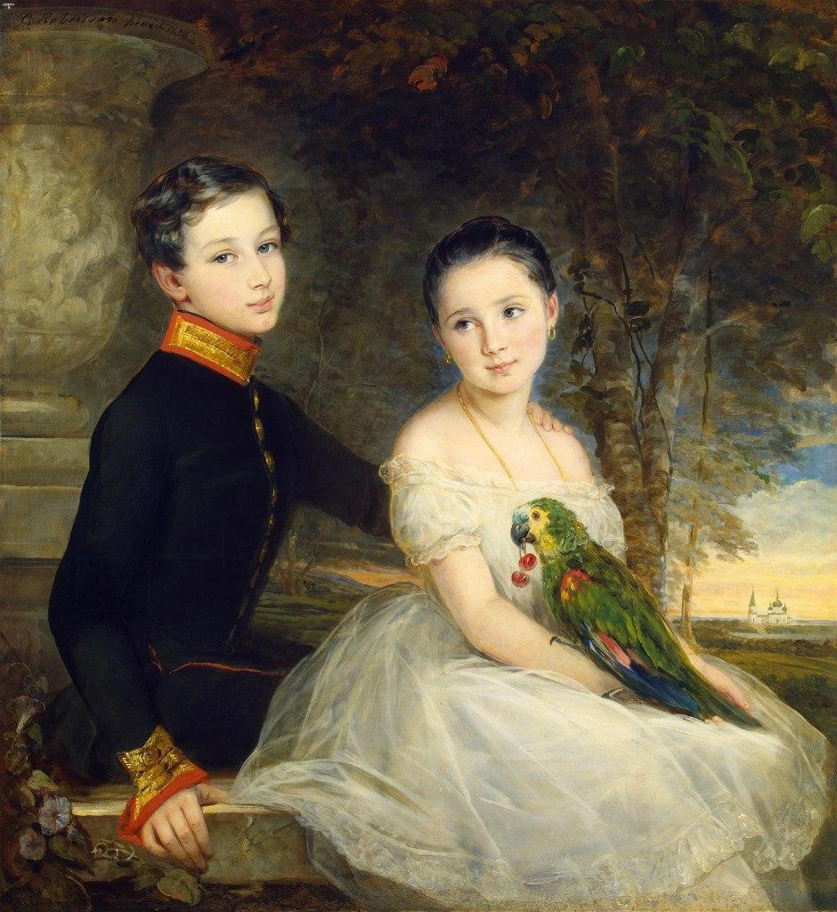 Шотландская художница Кристина Робертсон (1796-1854)